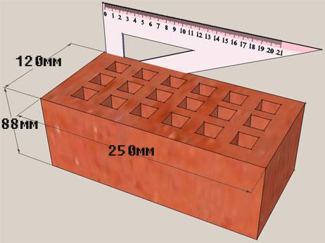 характеристики силикатного кирпича. параметры силикатного кирпича.