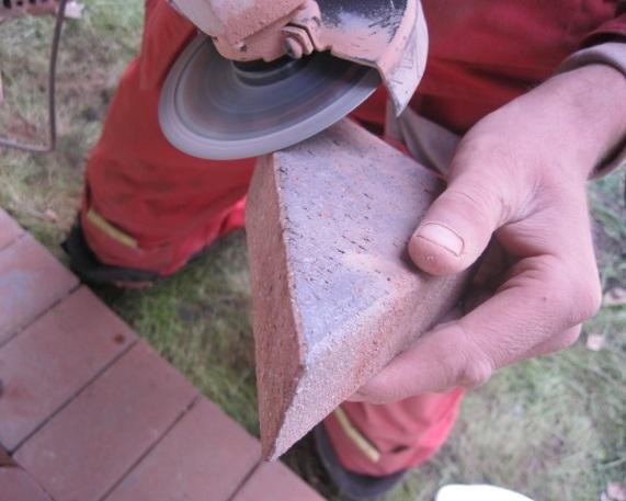 Как резать тротуарную плитку